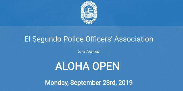 You're Invited!  Sept. 23rd, 2019 Aloha Golf Tournament, Online Registration Now OPEN!
